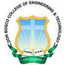 DON BOSCO COLLEGE OF ENGINEERING AND TECHNOLOGY